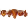 7X12mm Amber Nuggets+Mini Bead Semi-Precious